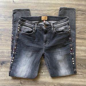 DRIFTWOOD Marilyn Grey Black Skinny Jean